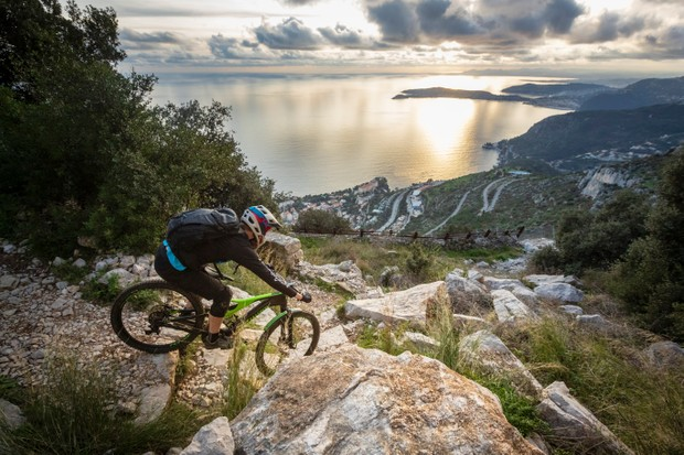 Electric bikes on test in the South of France