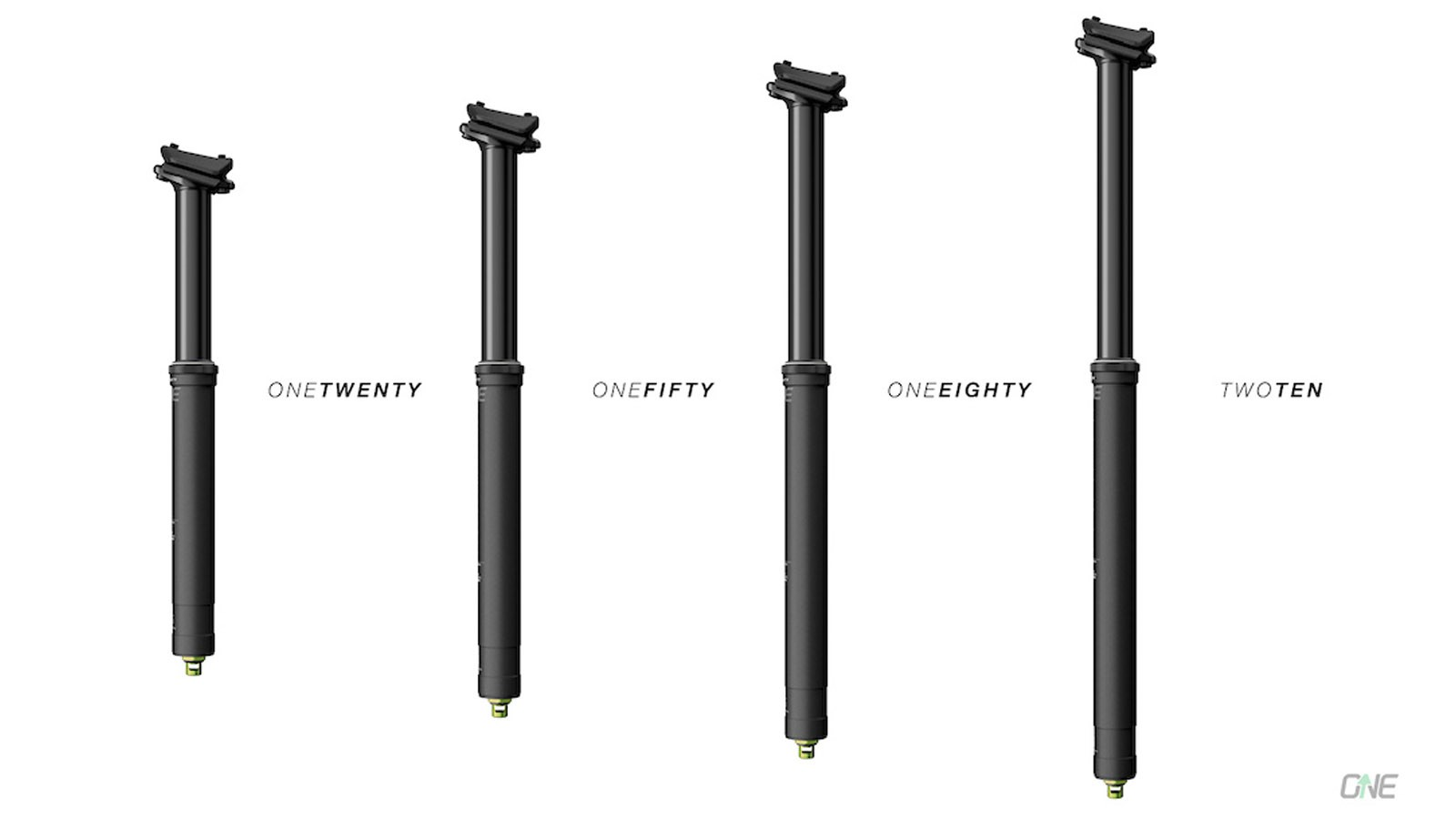 There are lengths to suit riders of all sizes on OneUp's new dropper post