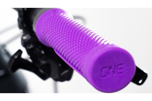 OneUp Grips in purple