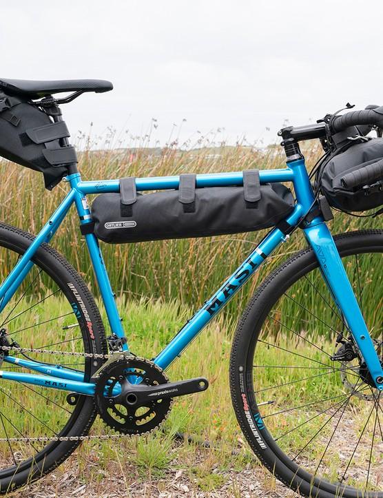 Ortlieb bike packing bags