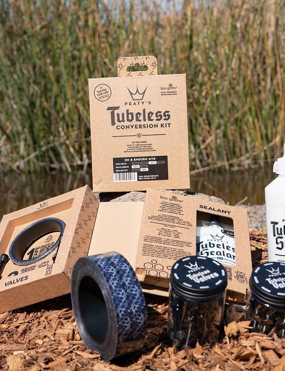 Peaty's tubeless conversion kit