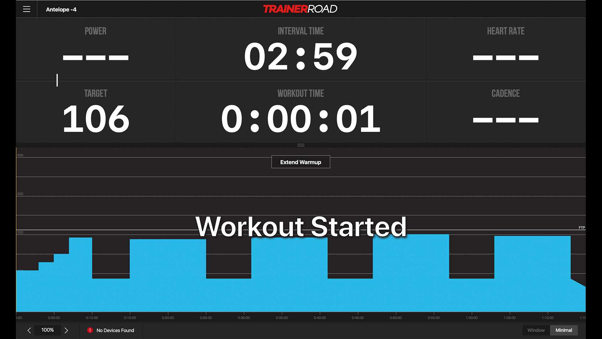 TrainerRoad screen shot