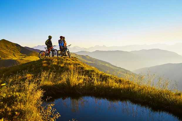 Saalbach Hinterglemm Mountain biking