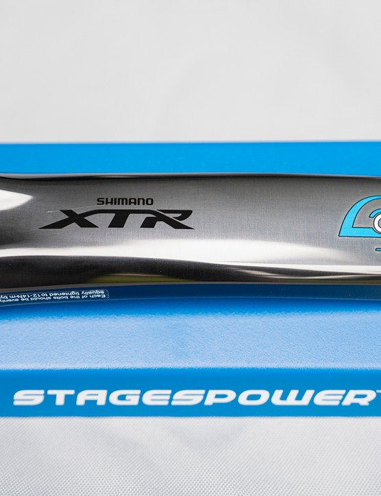 XTR Stages power meter
