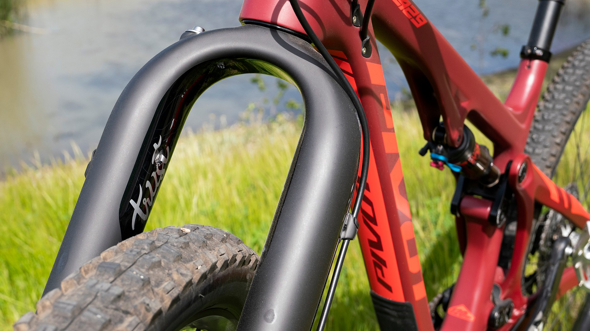 Trust Performance Message multi-link suspension fork