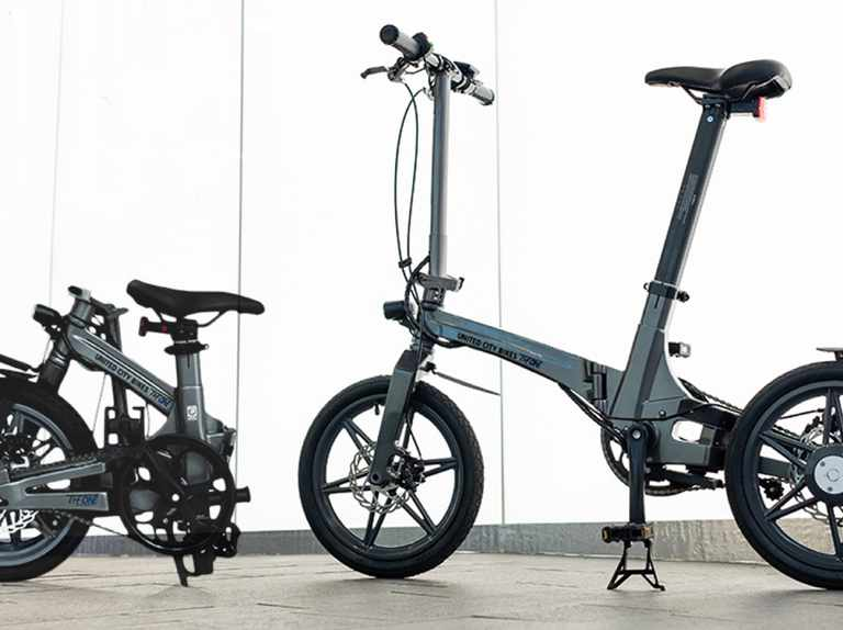 Is this 12kg folding electric bike the lightest on the market?