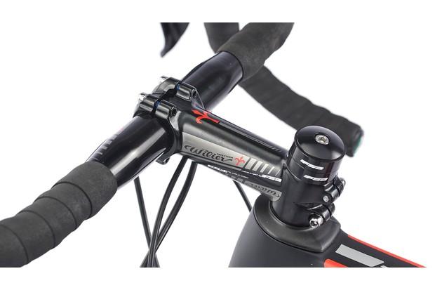 Road bike bar and stem