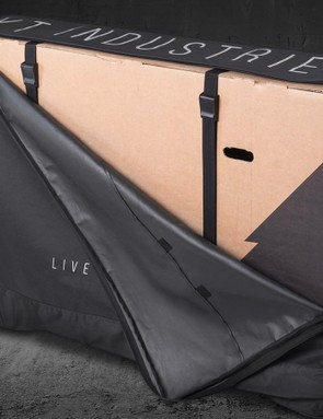 The body bag is essentially a box cover with wheels