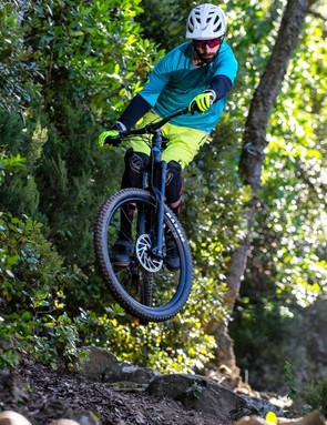 Tech editor in chief Rob Weaver was the man in charge of testing all the bikes. Here he puts the Canyon Strive through its paces