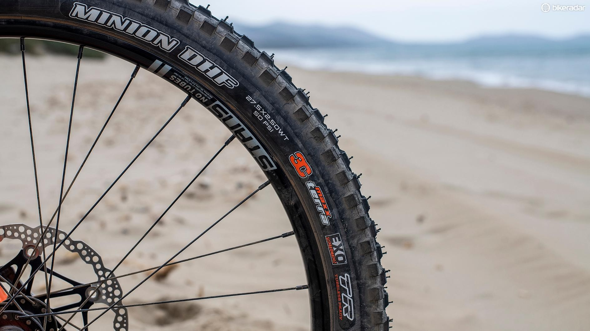 Maxxis tyres are always a safe bet