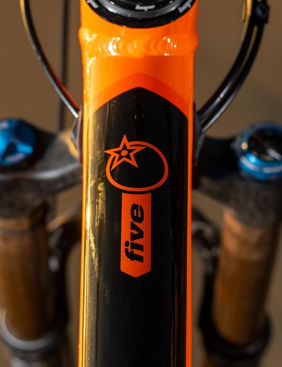 The bike's got newly-designed graphics that are now under the lacquer