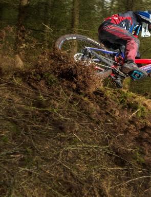I love a steep loamy trail, says Laurie