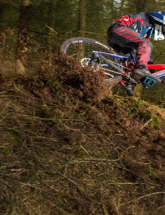 I love a steep loamy trail, says Laurie