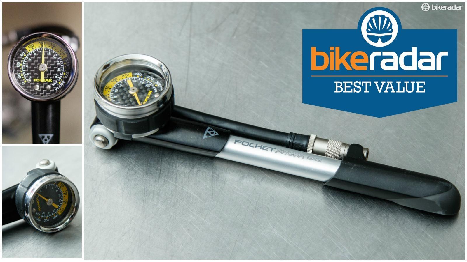 mountain bike shock pump