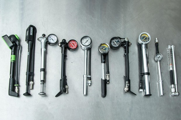 Wrench force tire pump