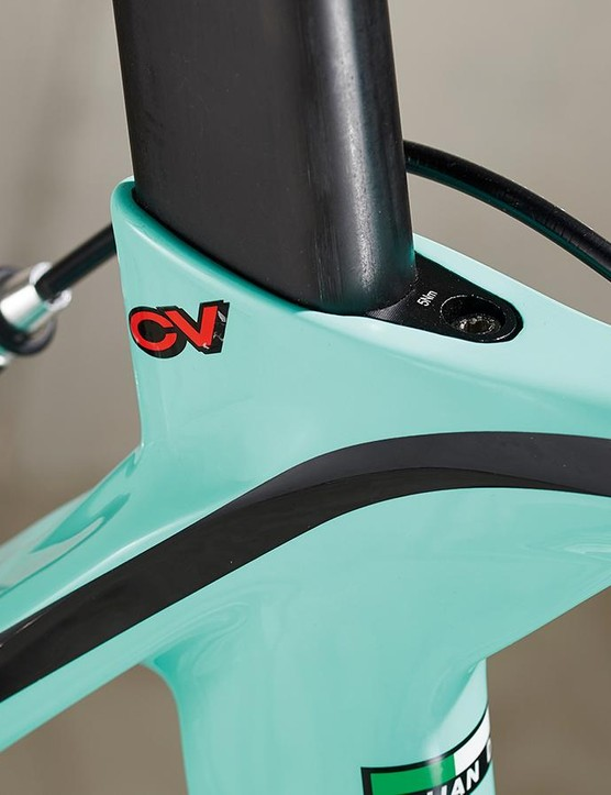 That CV is impressive, Bianchi's Countervail technology providing additional comfort