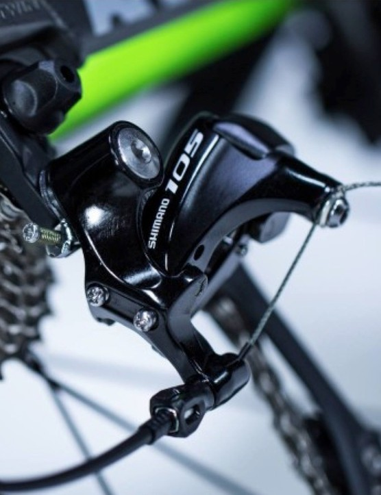 Shimano 105 throughout