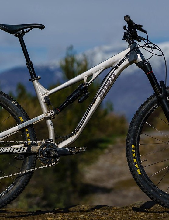 This is Bird's first attempt at a long travel 29er and it's certainly delivered one hell of a bike