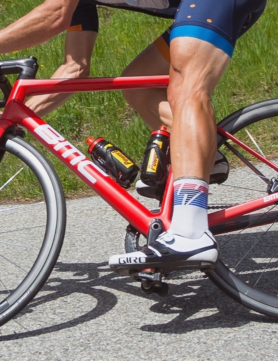 BMC's new Teammachine SLR01 Disc is a blast for ripping down windy Alpine roads