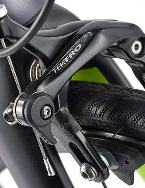 dual-pivot Tektro r315 brakes