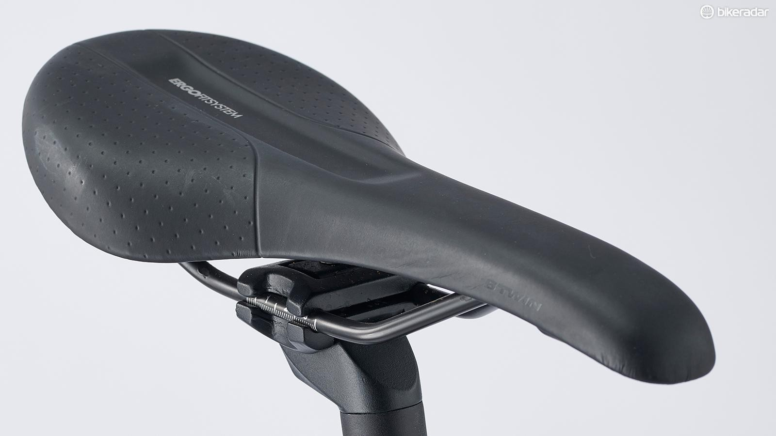 Triban's ErgoFit saddle