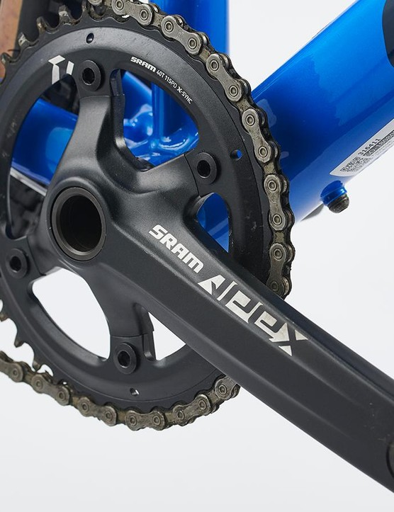 SRAM's Apex chainset with 40t X-Sync ring