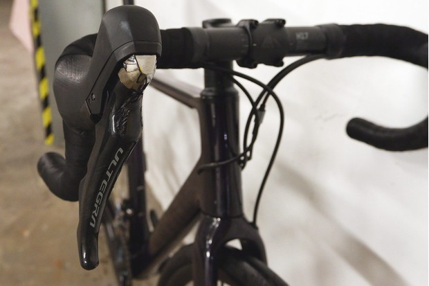 Ultegra shifters are less bulky with a shorter reach than previous models tested