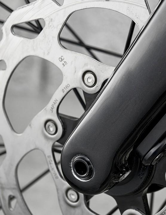 Shimano 105 hydraulic disc brakes