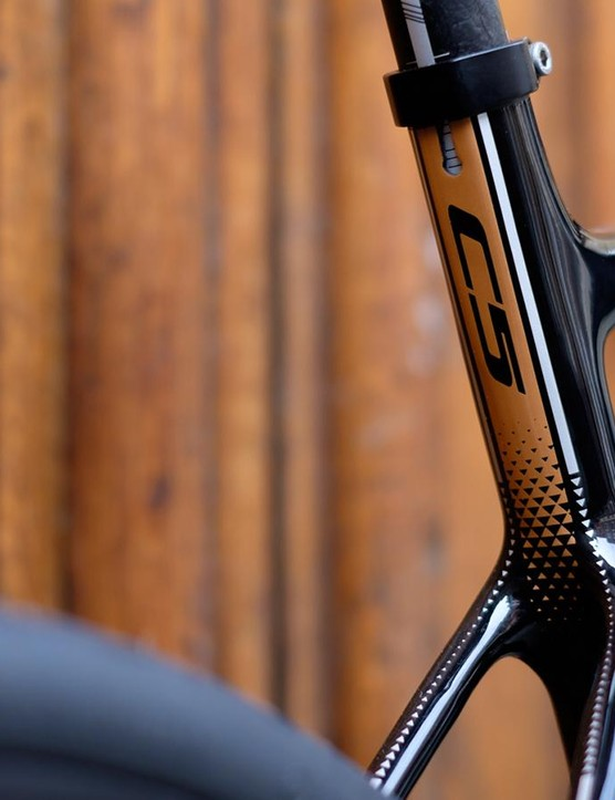 The C5's comfort levels are up there with class leaders like Cannondale's Synapse and BMC's GF01