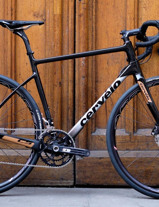 With its slacker front end, lower bottom bracket and absence of aero, the C5 is something of a departure for Cervélo