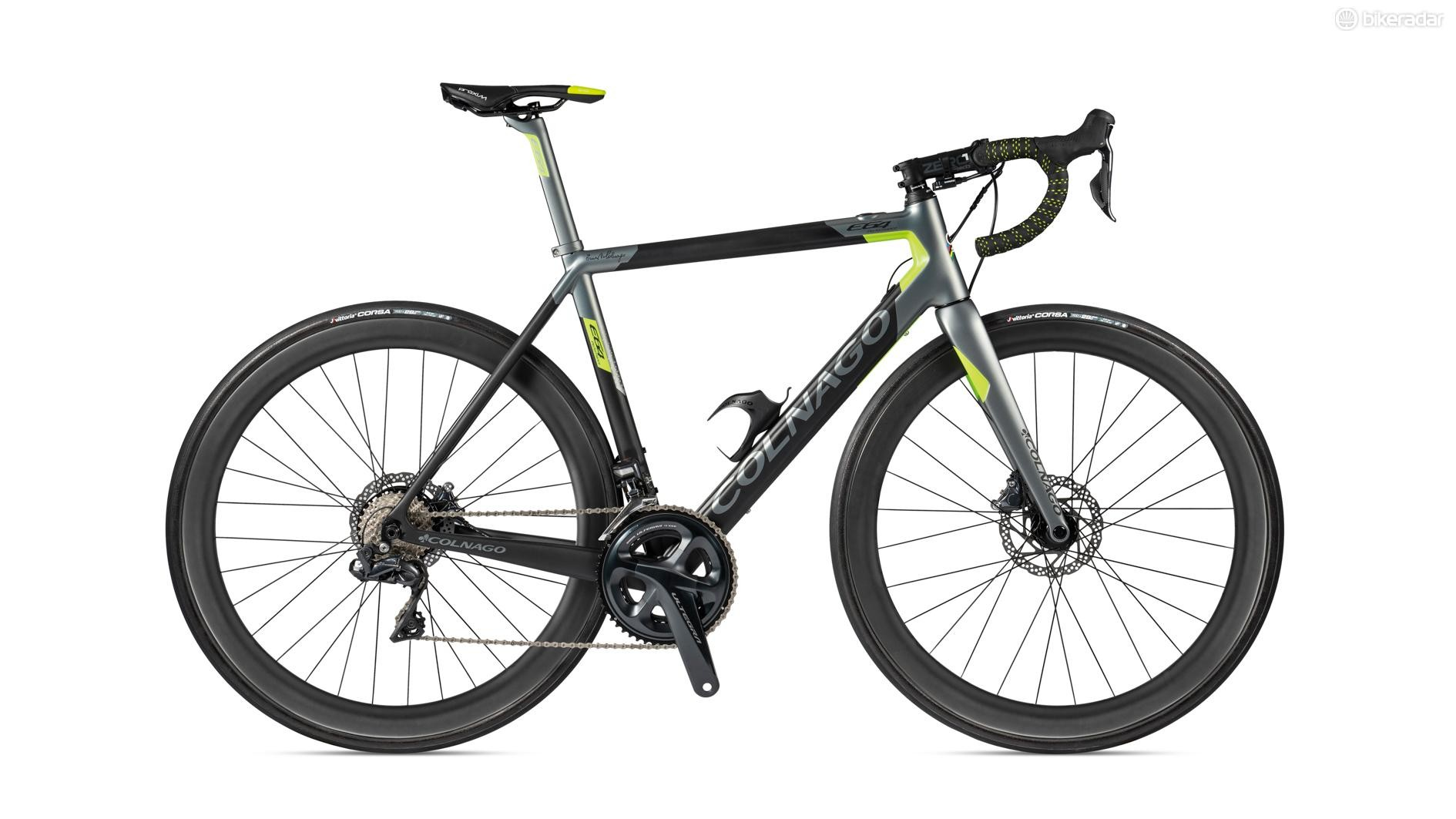 From the outside, it's hard to tell the new Colnago E64 is an electric bike at all