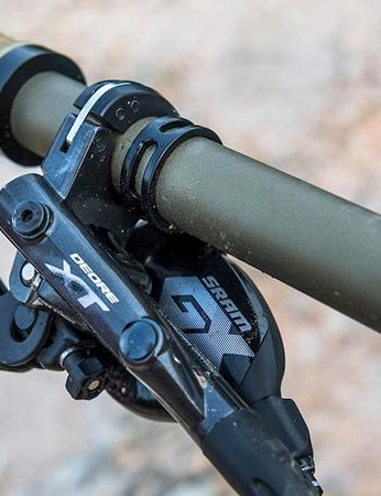 Shimano XT brings the party to a stop