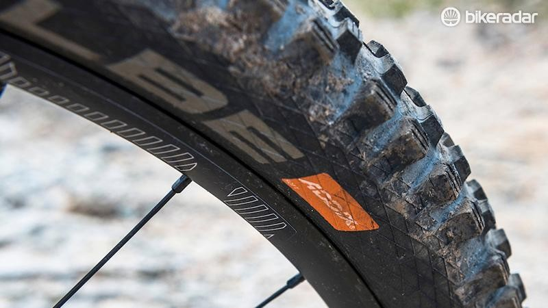An Addix Soft compound Magic Mary ensured front-end traction was never an issue