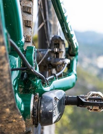 Commencal's Achilles heel is the heel rub we all got from the wide back end