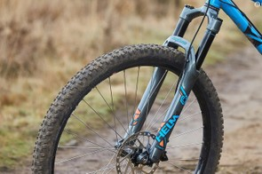 The only Cane Creek Helm in this year's Bike of the Year came with 130mm of travel
