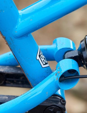 Cotic's 'DropLink' linkage is a four-bar system