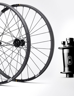 The wheels get the new Hydra hub