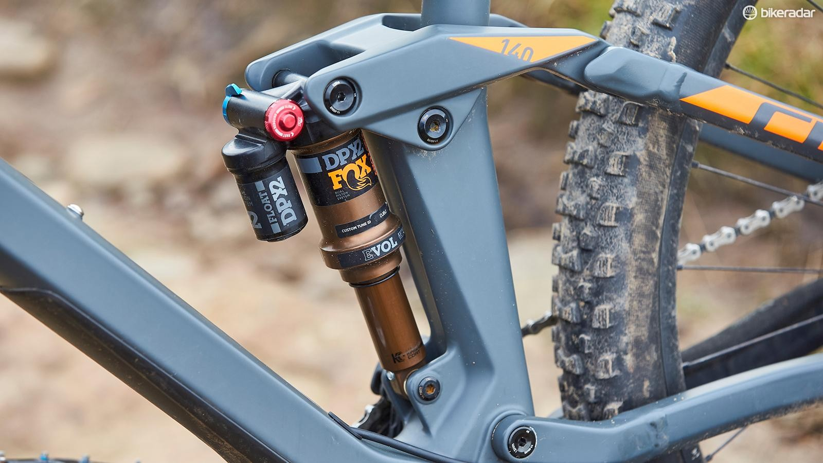 A Fox DPX2 shock gets the full Factory treatment