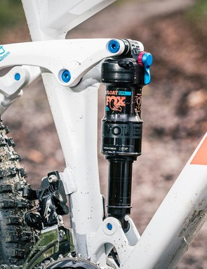 A full-suspension bike can handle rough, rocky and rooty off-road terrain