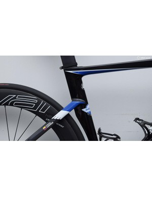 A look at the seat cluster of Gaviria's S-Works Venge