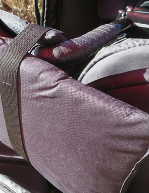 Large adjustable pads take care of protecting the ends of your bars and controls