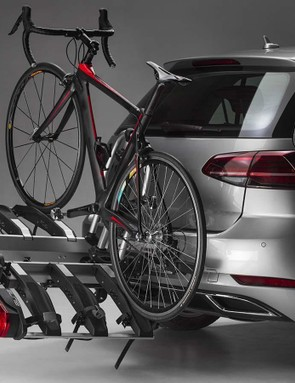 The Monte is also available in a Ramp version so you can tilt the rack sideways to make it easier to load heavier bikes