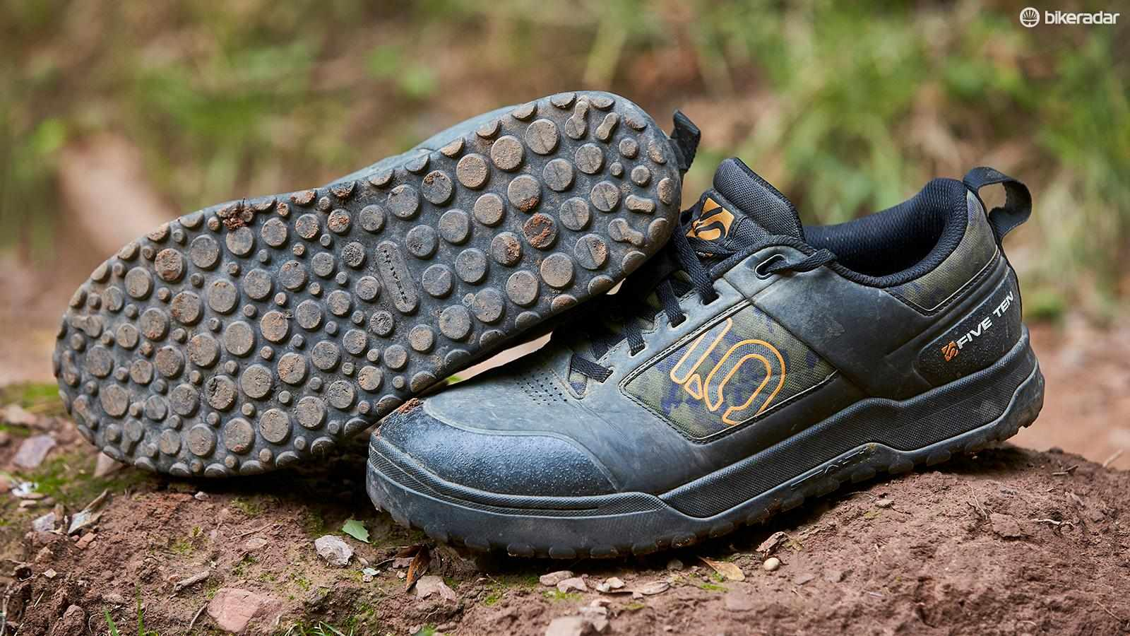 Five Ten's 'Stealth S1' rubber gives a glue-like stickiness to the sole