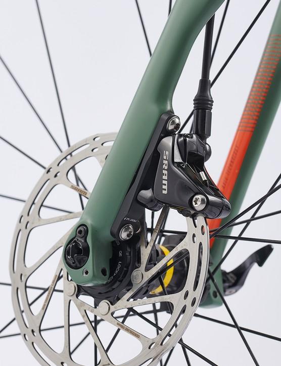 SRAM Apex 1 hydraulic disc brakes