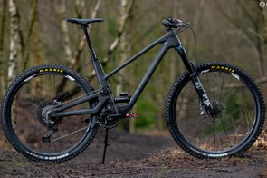 The stealthy Forbidden Druid is probably the first high pivot 29er trail bike. It features a lot of clever design details too