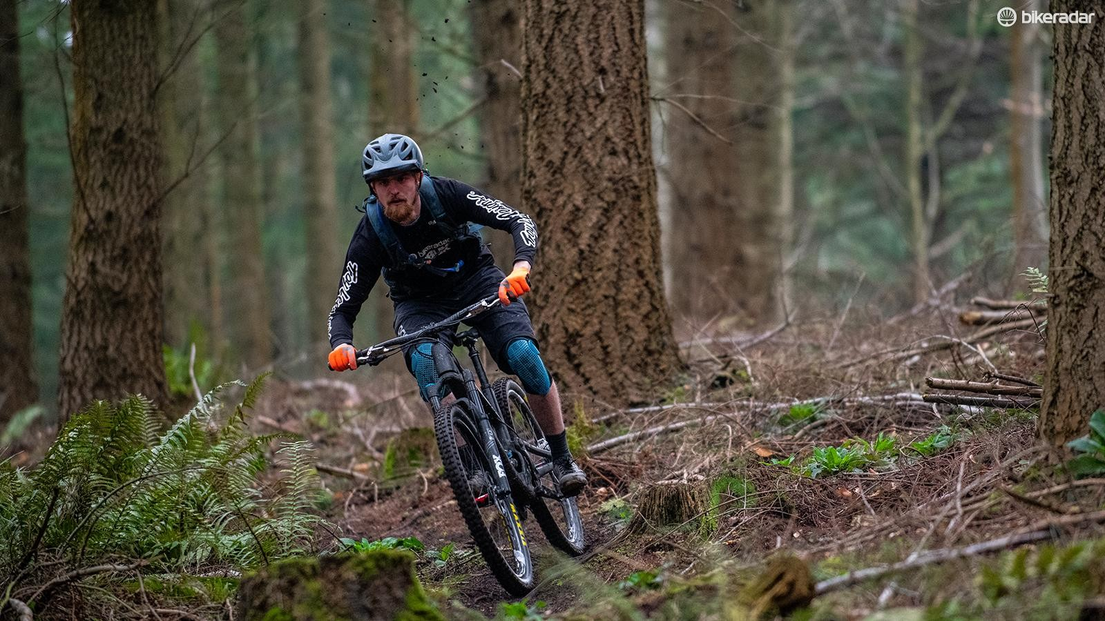 It's not often I get to ride yet-to-be-released bikes on my home trails. Despite the downsizing, the Druid felt remarkably calm at speed, especially when things got steeper