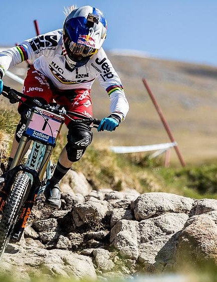 Rachel Atherton is the hot ticket in the women's race