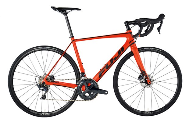 Fuji SL 2.3 disc C10 high-modulus carbon frame