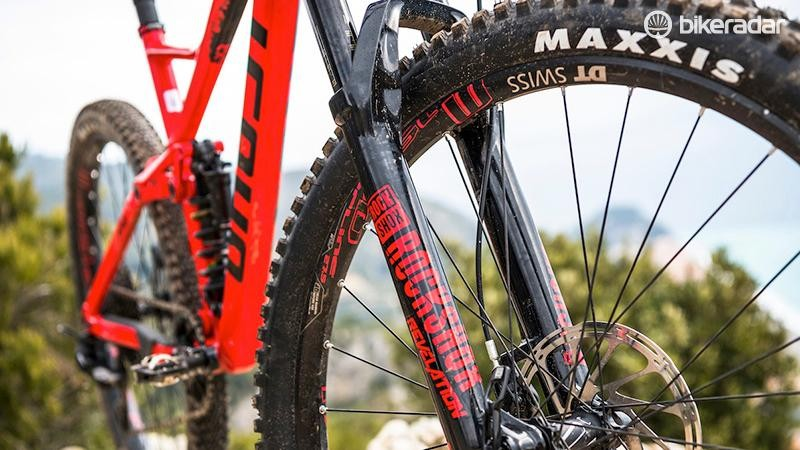 The older style RockShox Revelation isn't as good as the latest version and has a spikier feel