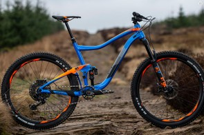 The Giant Trance is a mid-travel trail bike with some burly components